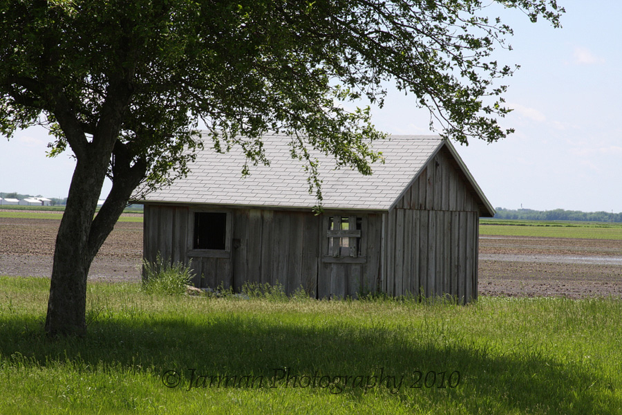 Nice farm building in Illinois